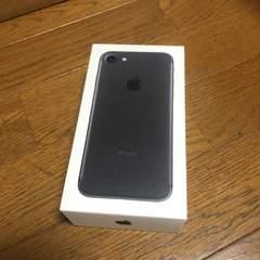 即決 iPhone7 32GB 箱のみ