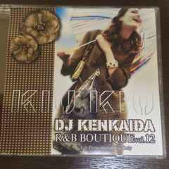 DJ KENKAIDA / R&B BOUTIQUE VOL. 12 MIXCD  ケンカイダ