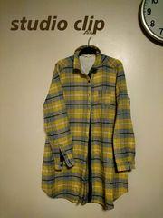 《Studio clip》大きいサイズ/配色メチャカワ♪羽織りOK♪