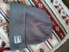 EDWIN ニット帽 グレー