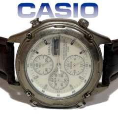 極レア 1スタ★CASIO カシオ【リネージュ】新品ベルト 腕時計