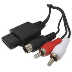 【送込】N64・SFC・GC用 新品互換「S端子ケーブル」