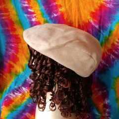 激カワッ♪ピンクベージュがオシャレ♪ハンチング帽子