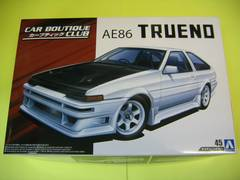アオシマ 1/24 ザ・チューンドカー No.45 カーブティッククラブ AE86 トレノ '85(トヨタ)