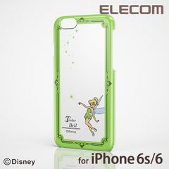 【送料込】iPhone6 シェルカバー  Disney ティンカー・ベル