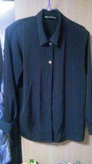 シンプル♪カジュアル♪黒♪シャツ♪フリーsize