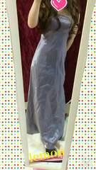 光沢たっぷり☆longドレス