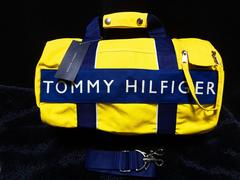 トミーヒルフィガー ミディアムボストン ショルダーバッグ