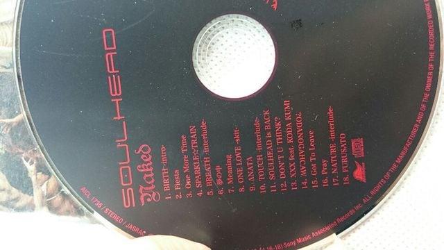 SOUL HEAD CDアルバム < タレントグッズの