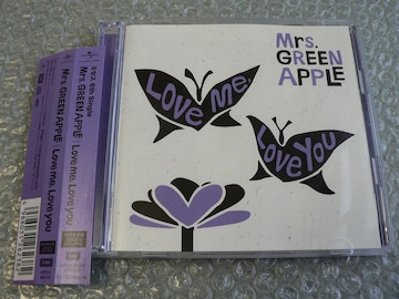 Mrs.GREEN APPLE【Love me,Love you】初回限定盤(CD+DVD)他出品