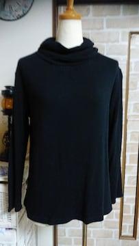MICHEL KLEIN 黒 長袖ろんT Mサイズ