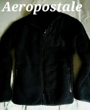 【Aeropostale】エアロポステール Vintage フルジップフリースジャケット US-L モコモコ