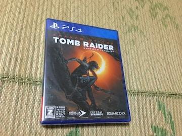 PS4新品シャドウオブザトゥームレイダー
