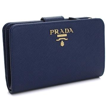 PRADA 2つ折り財布 1ML225 QWA F0016 BLUETTE
