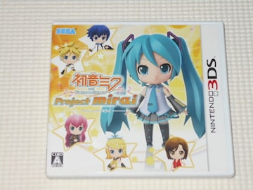 3DS★初音ミク and Future Stars Project mirai ARカード無し