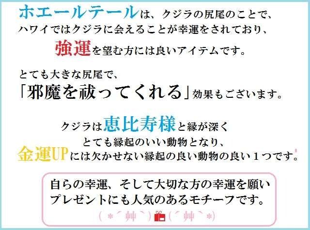 ラッキー☆ホエール★健康運・ミス軽減・願いを叶える★ストラ/パワーストーン/占 < 女性ファッションの