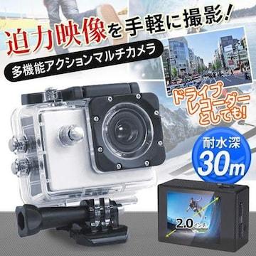 防水ビデオカメラ 自動撮影 動画録画 20190329-com-k/7