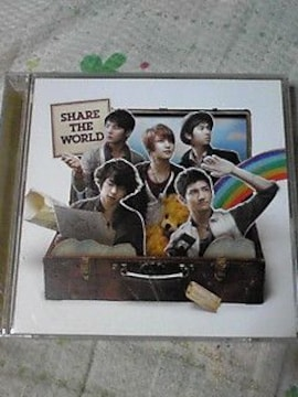 CD+DVD東方神起 Share The World