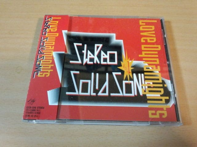 LOVE DYNAMIGHTS CD「STEREO SOLID SONIC VOL.1」廃盤●  < タレントグッズの