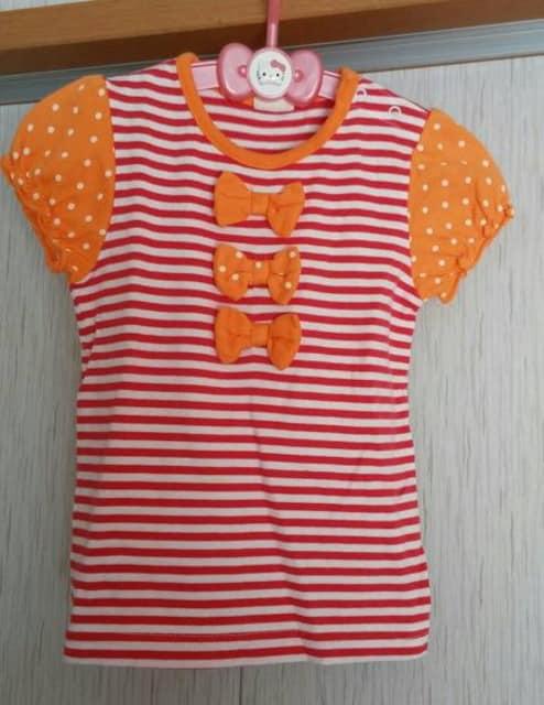 ムージョンジョン☆可愛いTシャツ☆size90  < ブランドの