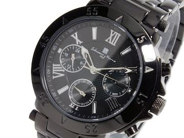 サルバトーレマーラ クオーツ クロノ 腕時計SM14118-IPBK