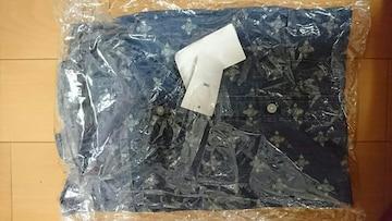 UNIQLOユニクロデニムプリントシャツSサイズ。新品タグ付きです。