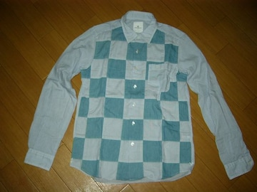 uniform experimentパッチワークシャツ1ソフネットSOPHNET.薄手
