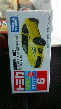 トミカ 6 新型スバルBRZ 初回特別仕様 未開封 新品 イエロー