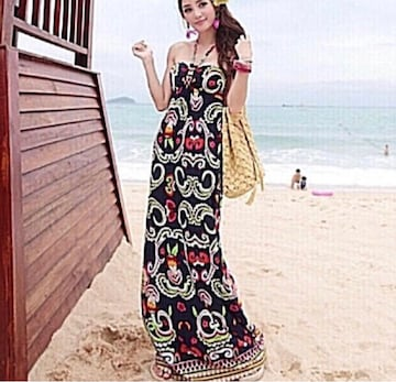 s30 海辺のオシャレドレス