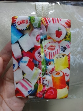 ポケットティッシュケース★キャンディ柄★