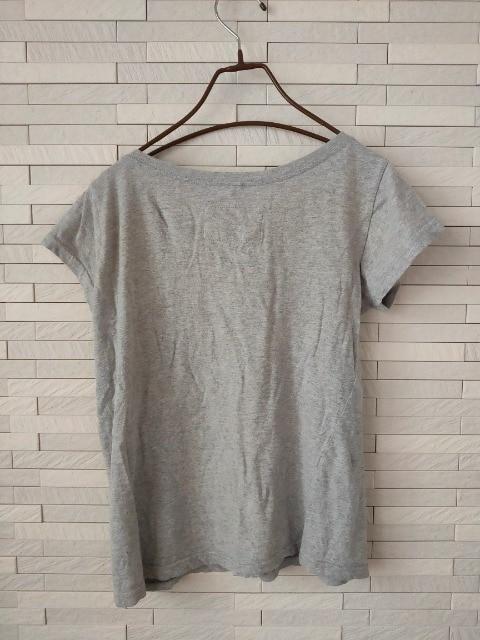 即決/チャイハネ/コットン半袖Tシャツ/グレー/無地 < ブランドの