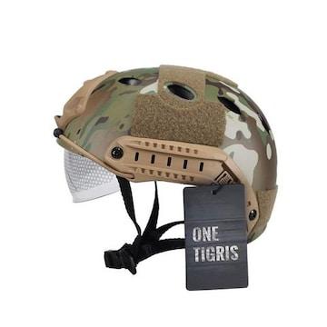 ファストヘルメット PJタイプ 米軍風レプリカ装備 迷彩