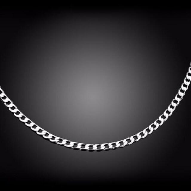 SVネックレス925刻印あり/チェーンプラチナ加工人気最安値 < 女性アクセサリー/時計の