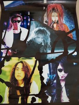 X JAPAN ポスター 52cm×68cm YOSHIKI hide ToshI PATA HEATH