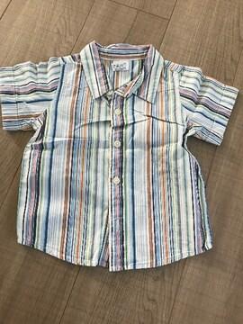 GAP男の子半袖シャツ80美品