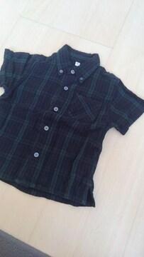 無印半袖シャツ定番90