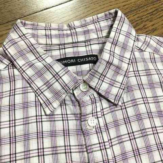 美品TSUMORI CHISATO チェックシャツ ツモリチサト < ブランドの
