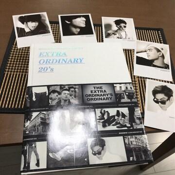 BIGBANGビッグバン2枚組DVD写真集extra oldinary