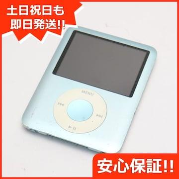 ●安心保証●美品●iPOD nano 第3世代 8GB ブルー●