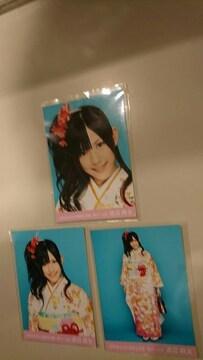 AKB48 2010 福袋生写真 渡辺麻友コンプ