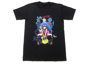 ゴリラズ GORILLAZ  バンドTシャツ  445 M