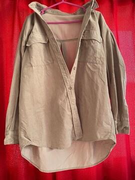 gu☆コーデュロイオーバーサイズシャツ☆