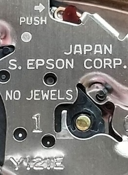 日本製  セイコーエプソン製造機械使用 ピエールカルダン 腕時計 婦人用
