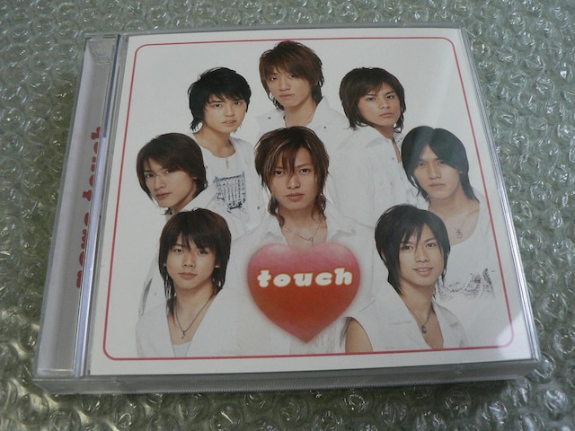 NEWS/アルバム『touch』初回限定盤【CD+DVD】他にも出品中  < タレントグッズの