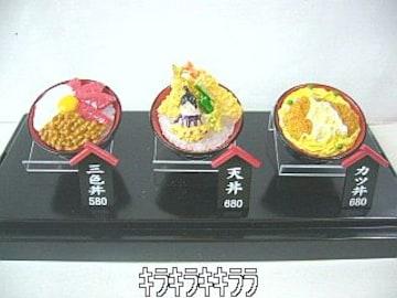 フィギュア【どんぶり屋】丼物*全3種セットケース付