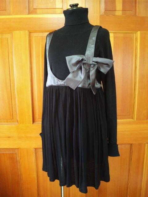 新☆アズノウアズリボン付きチュニック☆ゆったりOK大きいサイズ < 女性ファッションの