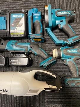 マキタ18v充電工具セット