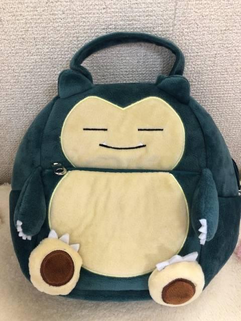 ポケモン キャラコロ バッグ 【 カビゴン 】  < おもちゃの