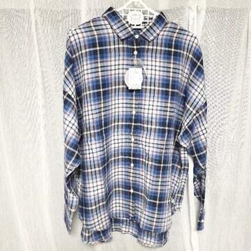 【新品】やわらか2wayチェックシャツ/アースミュージック&エコロジー