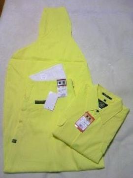 送料込☆寅壱【黄色】トビシャツL、3超ロング82cm
